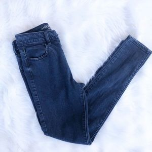 American eagle high waisted 4 jeggings blue jeans